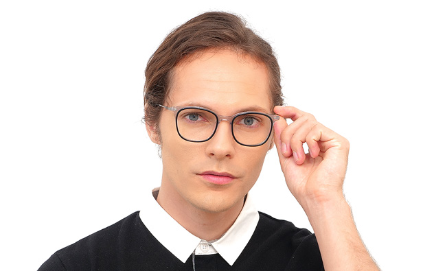 Eyeglasses John Dillinger JD2031G-9S  ブラック