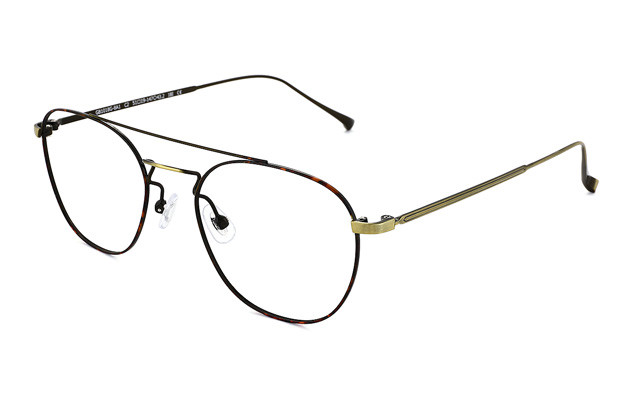 Eyeglasses Graph Belle GB1018G-8A  ブラウンデミ