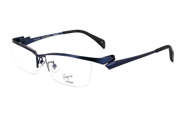Eyeglasses K.moriyama KM1124-G  Mat Navy