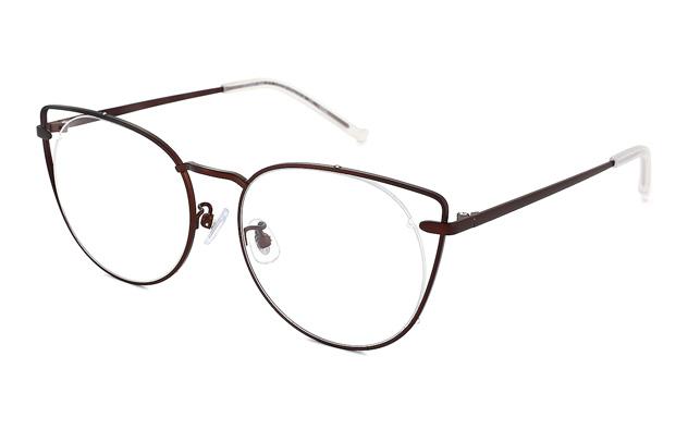 Eyeglasses lillybell LB1006G-8A  マットブラウン