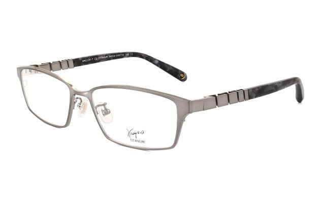 Eyeglasses K.moriyama KM1135-T  Gun