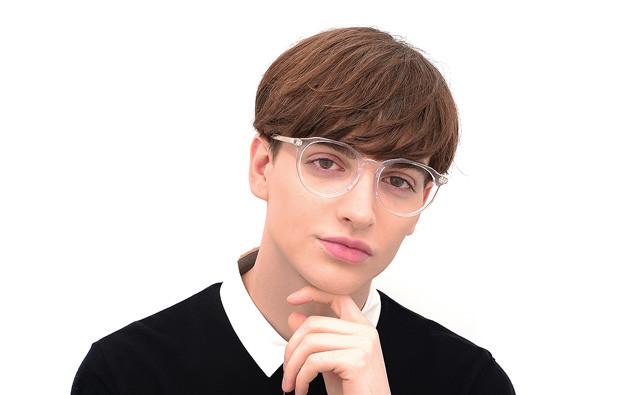 Eyeglasses +NICHE NC3014J-0S  Clear Brown