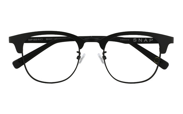 Eyeglasses OWNDAYS SNAP SNP1003-N  マットブラック