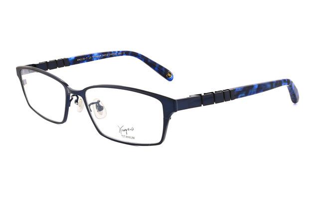 Eyeglasses K.moriyama KM1135-T  ネイビー