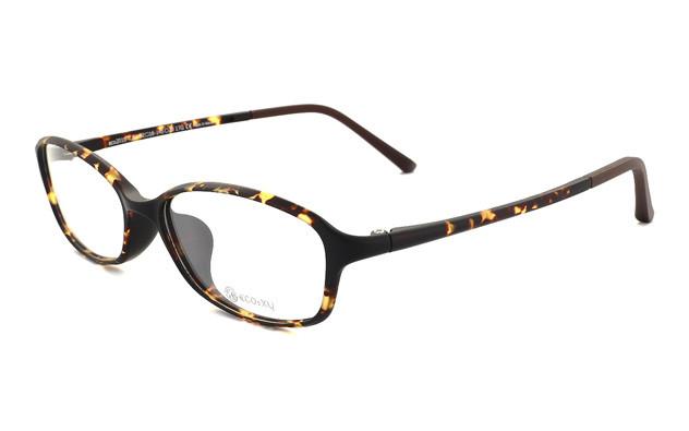 Eyeglasses ECO2XY ECO2010-K  マットブラウンデミ