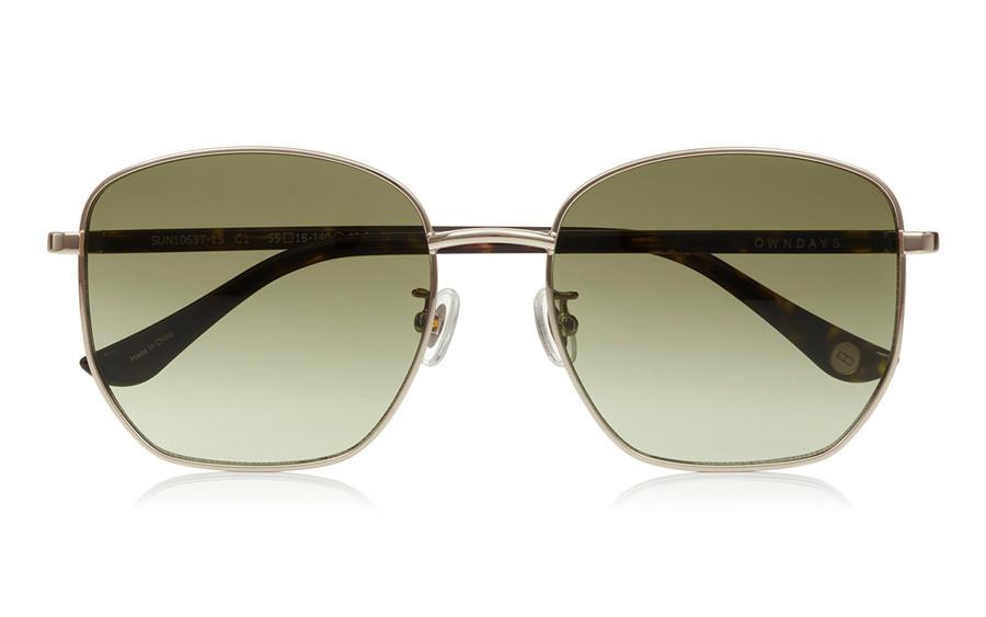 Sunglasses OWNDAYS SUN1063T-1S  Gold