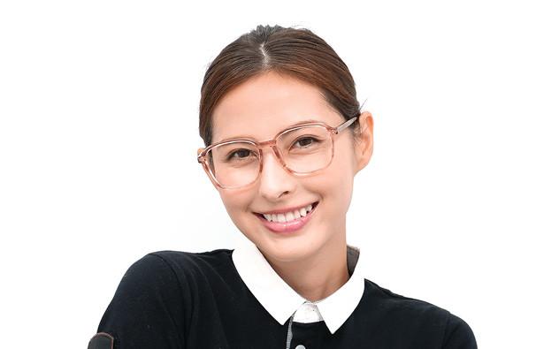 Eyeglasses +NICHE NC3016J-0S  クリアブラウンデミ