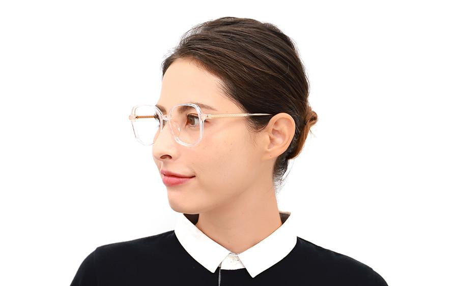 Eyeglasses +NICHE NC3018J-1A  クリア