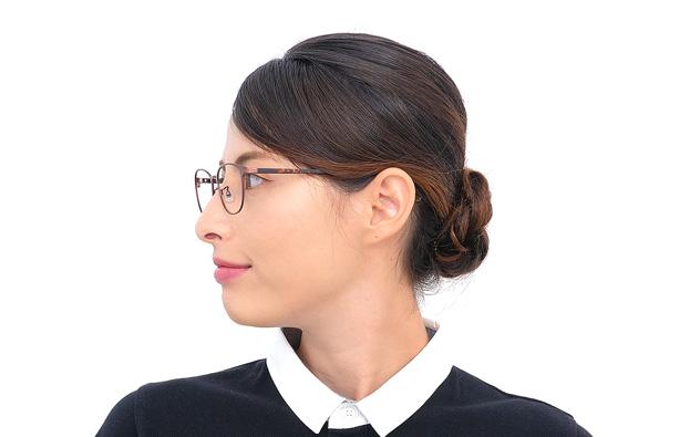 Eyeglasses Calmo CL1007Q-9A  レッド