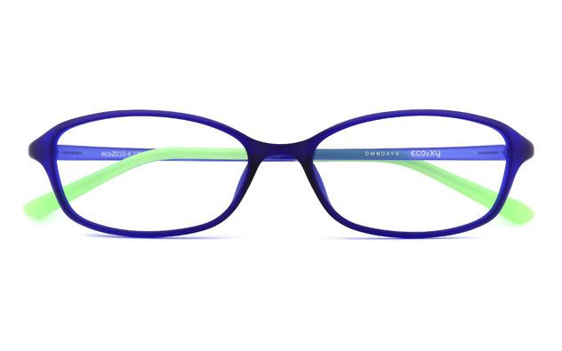 Eyeglasses ECO2XY ECO2010-K  マットクリアブルー