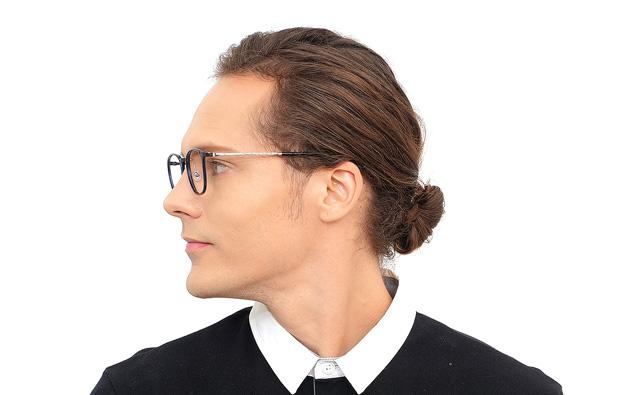Eyeglasses AIR Ultem Classic AU2052T-8A  ネイビー