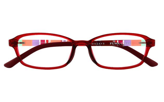 Eyeglasses FUWA CELLU FC2012T-8A  レッド