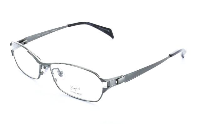 Eyeglasses K.moriyama OS1003  ライトガン