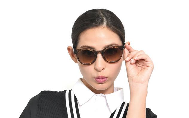 Sunglasses OWNDAYS SUN2053-J  ブラウンデミ