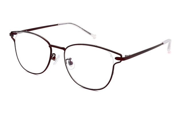 Eyeglasses lillybell LB1005G-8A  マットダークワイン