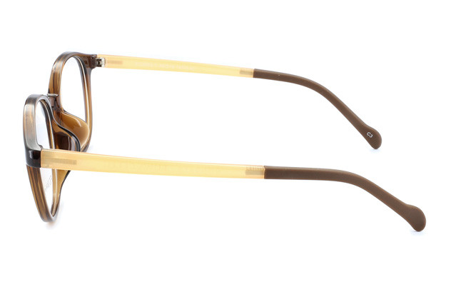Eyeglasses FUWA CELLU FC2003-T  ブラウン