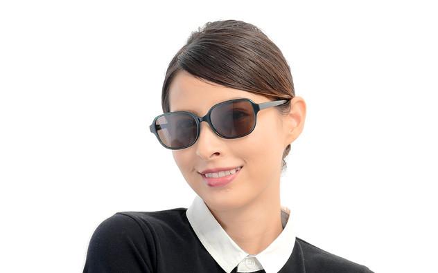 Sunglasses OWNDAYS SUN2075B-9A  ブラウンデミ