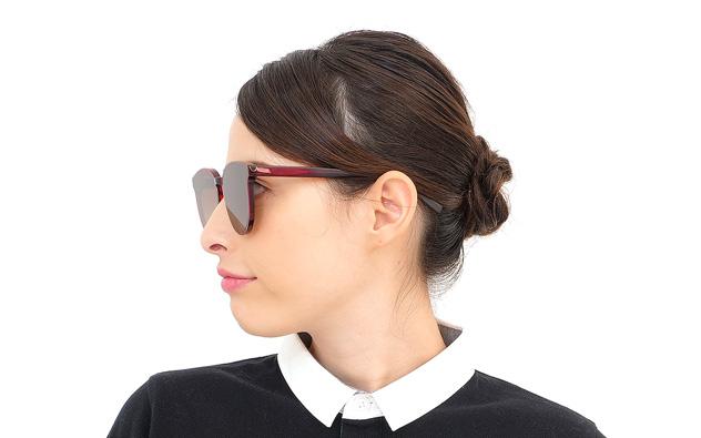 Sunglasses OWNDAYS SUN2058J-9S  ベージュ