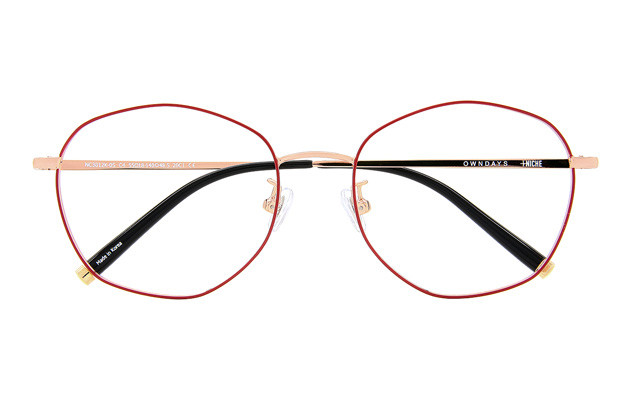 Eyeglasses +NICHE NC3012K-0S  Red