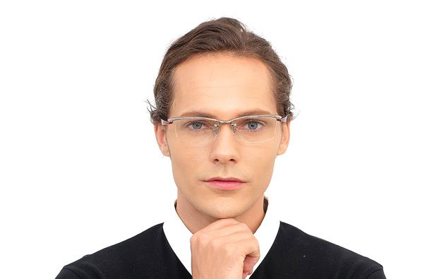 Eyeglasses K.moriyama KM1136T-8A  ガン