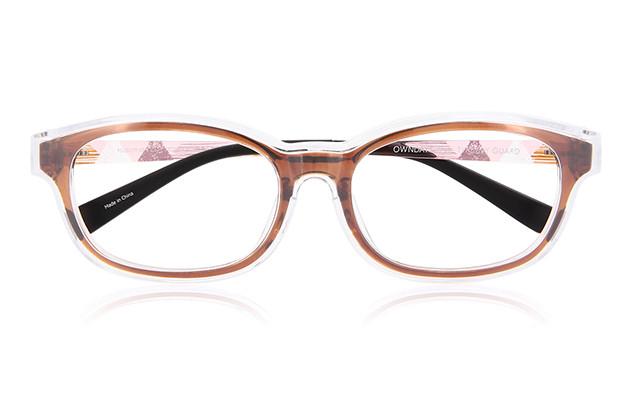 Eyeglasses OWNDAYS PG2017T-1S  ブラウン