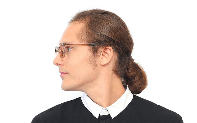 Eyeglasses OWNDAYS OR2027N-8A  ブラウンデミ