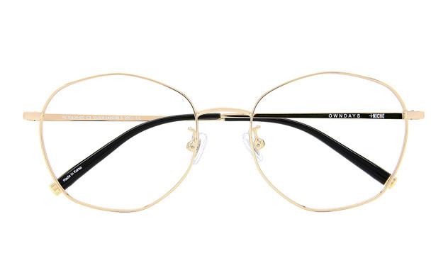 Eyeglasses +NICHE NC3012K-0S  ゴールド