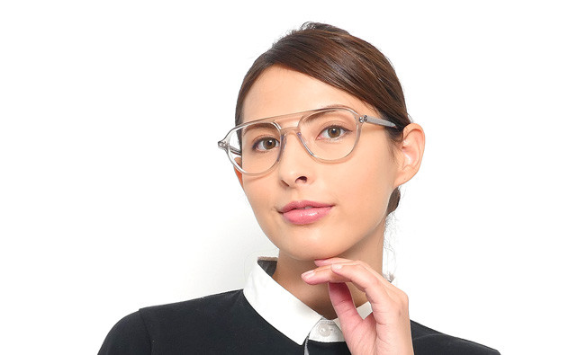 Eyeglasses lillybell LB2004J-8A  Clear Gray