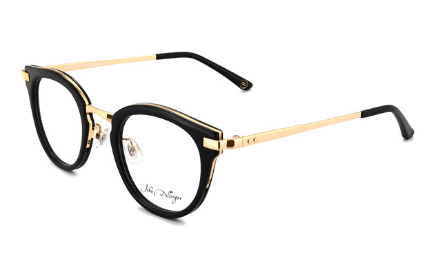 Eyeglasses John Dillinger JD2010-D  Black