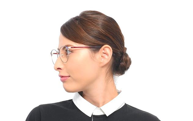 Eyeglasses Graph Belle GB1020F-8A  Brown Demi