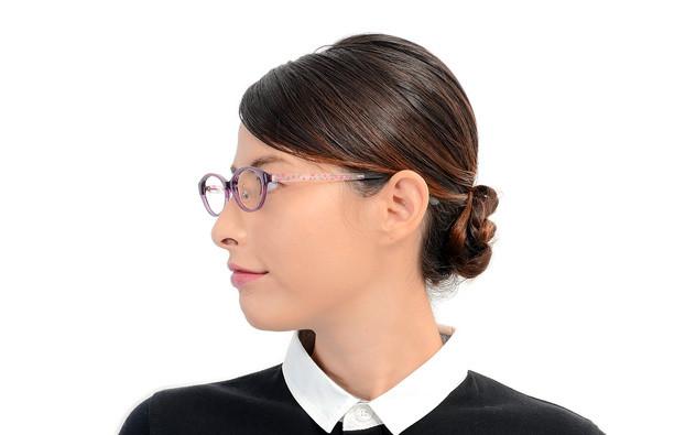 Eyeglasses FUWA CELLU FC2020S-0S  Purple
