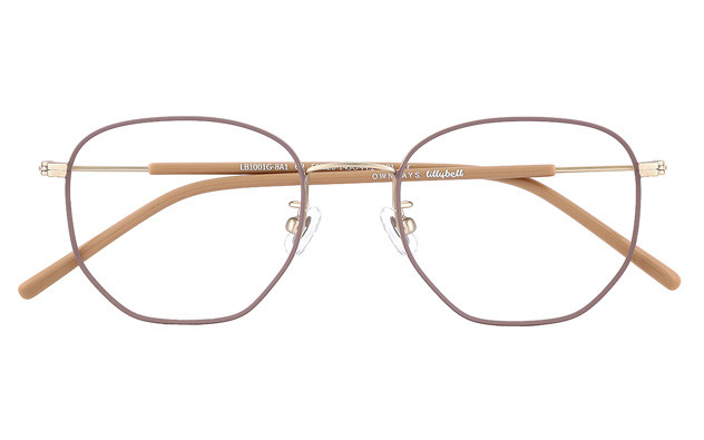 Eyeglasses lillybell LB1001G-8A  Brown