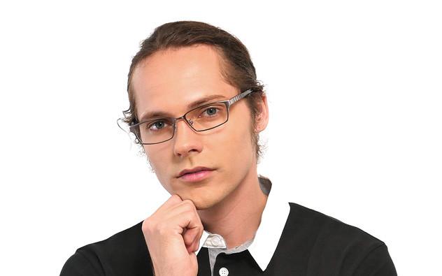 Eyeglasses K.moriyama KM1135-T  ブラウン
