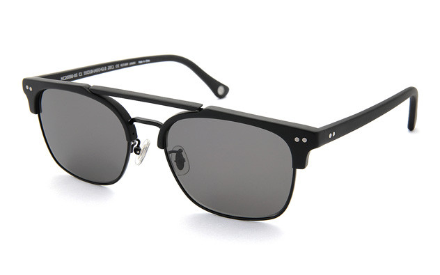 Sunglasses +NICHE NC2009B-0S  Mat Black