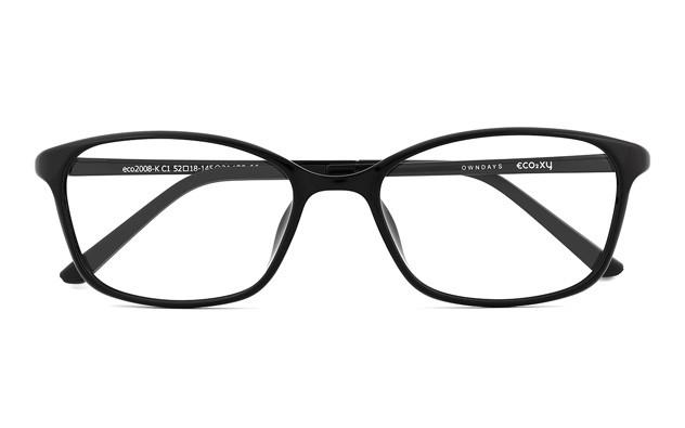 Eyeglasses ECO2XY ECO2008-K  ブラック