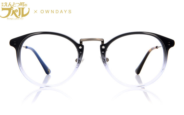 Eyeglasses MOVIE「POUPELLE OF CHIMNEY TOWN」× OWNDAYS PU2001T-0A  Black