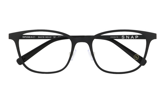 Eyeglasses OWNDAYS SNAP SNP2008-N  ブラック