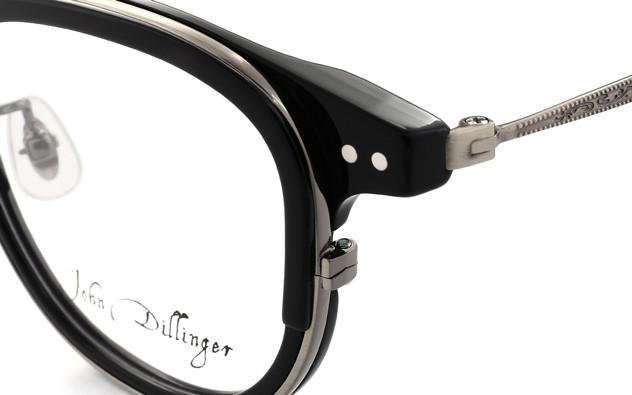 メガネ John Dillinger JD2016-T  ブラック