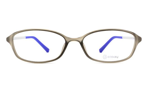 Eyeglasses ECO2XY ECO2010-K  マットクリアグレー
