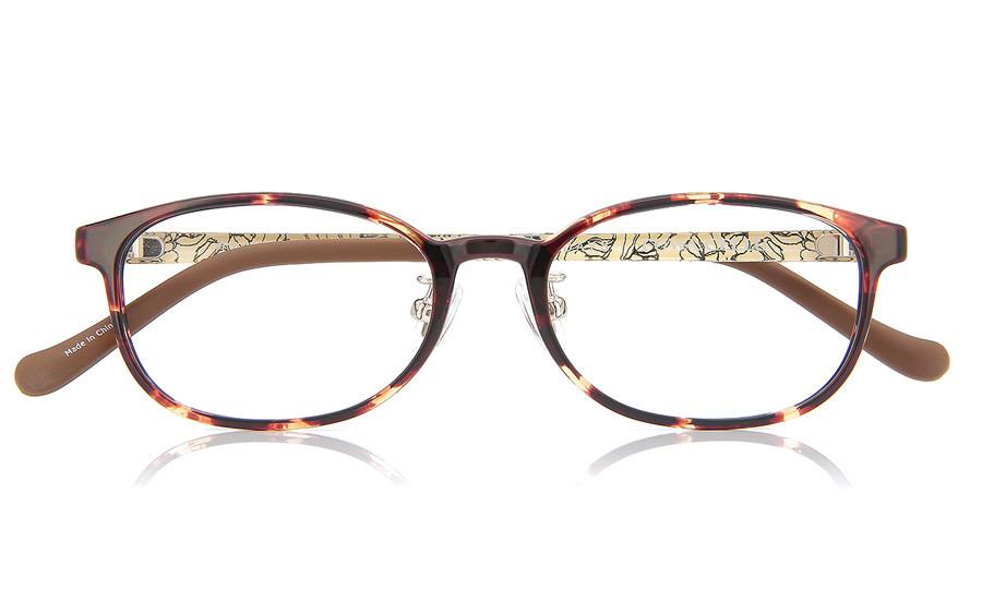 Eyeglasses FUWA CELLU FC2026T-1A  Brown Demi