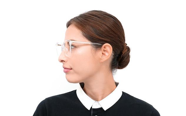 Eyeglasses +NICHE NC3015J-0S  クリア