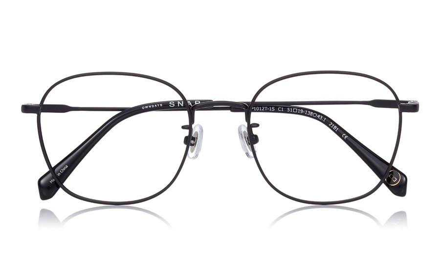 Eyeglasses OWNDAYS SNAP SNP1012T-1S  Black