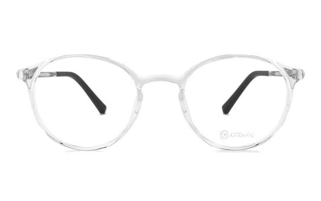 Eyeglasses ECO2XY ECO2009-K  クリアグレー