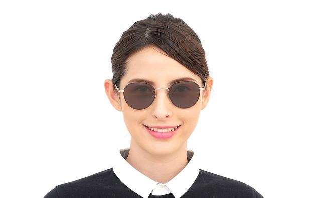 Sunglasses OWNDAYS SUN1042B-9S  ゴールド