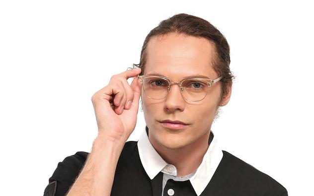 Eyeglasses John Dillinger JD2024-J  クリアイエロー