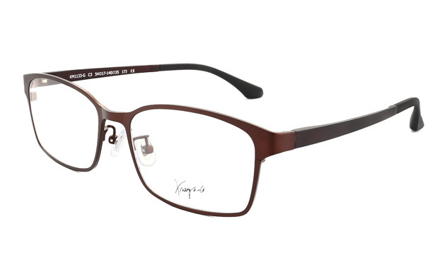 Eyeglasses K.moriyama KM1133-G  Brown