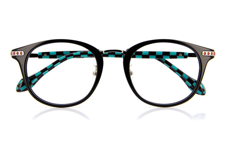 Eyeglasses DEMON SLAYER -KIMETSU NO YAIBA- KMTY2001Y-1S  Black
