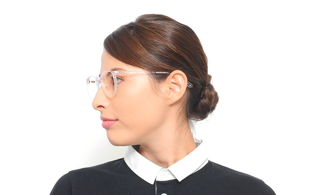 Eyeglasses Graph Belle GB2019N-8A  ブラウンデミ
