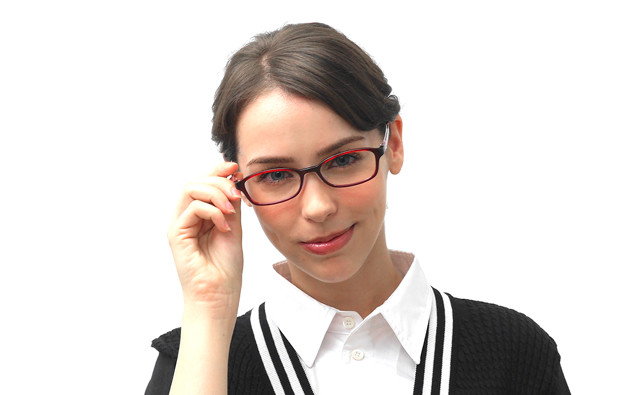 Eyeglasses FUWA CELLU TR2023  マットブラック