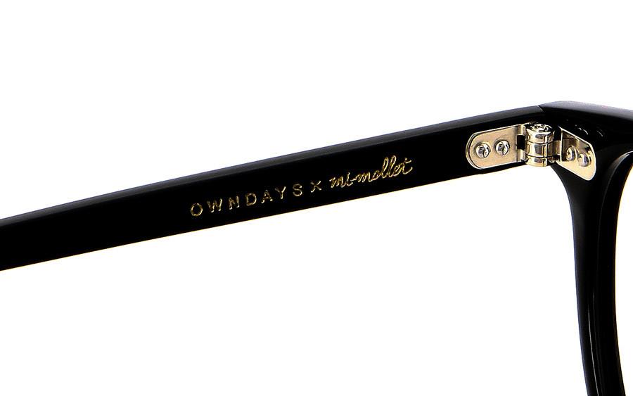 Eyeglasses mi-mollet × OWNDAYS MI2002J-1A  ブラック